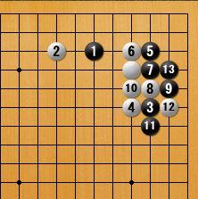星・小ゲイマ両カカリ2-2