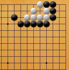 簡単な詰め碁