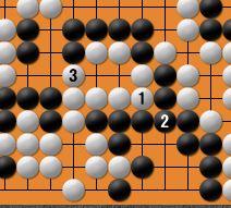 黒番四子局-kgs05-4