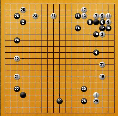 白番二子局panda006-1