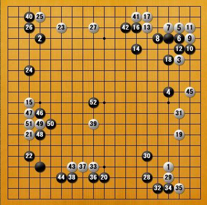 白番二子局panda006-2