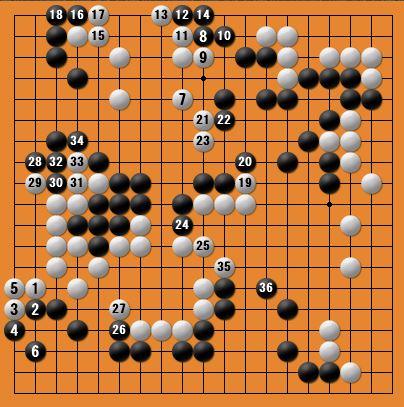 白番二子局panda006-5