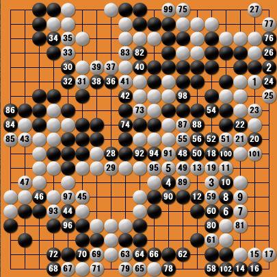 白番二子局panda006-8