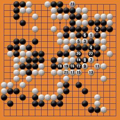 白番二子局panda006-9