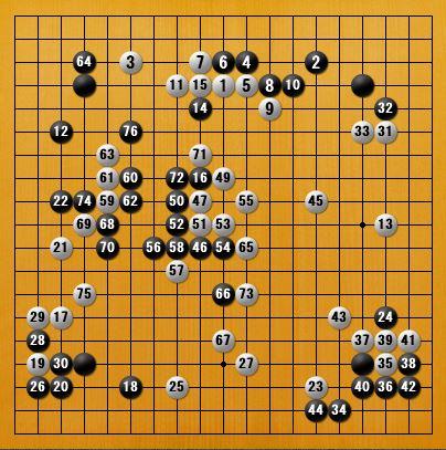 白番四子局(逆コミ)-panda007-2