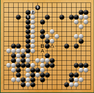 黒番 九子局-panda008-12