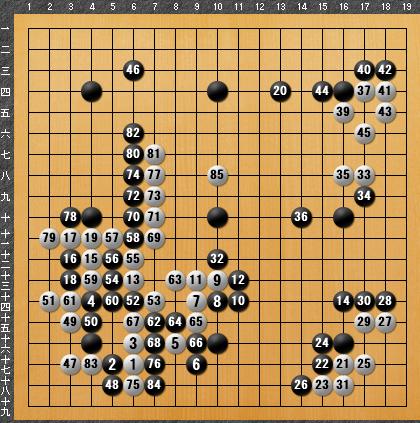 黒番 九子局-panda008-5