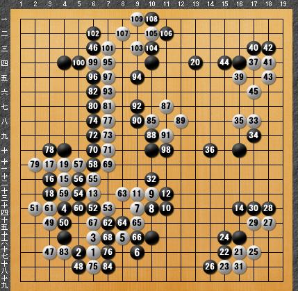 黒番 九子局-panda008-6