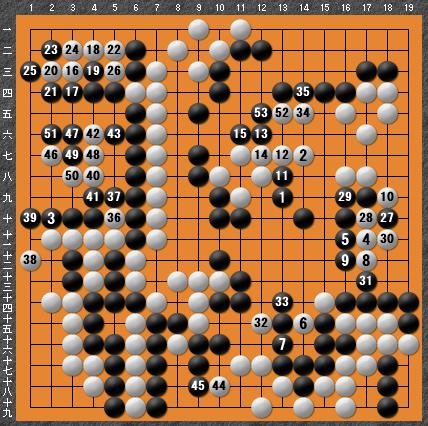 黒番 九子局-panda008-9