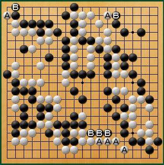 黒番 互先-panda009-8
