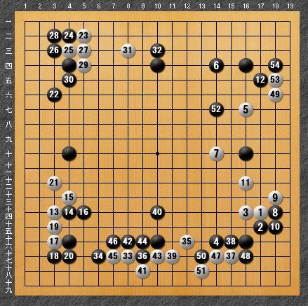 黒番 八子局-panda010-4
