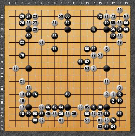 黒番 八子局-panda010-5
