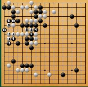 白番 互先-panda012-2