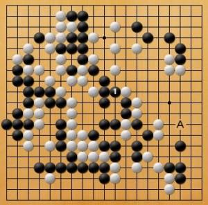 プロ棋士指導碁-吉岡P指導碁五子局-007