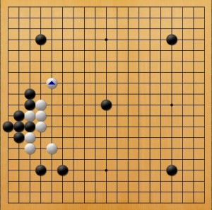プロ棋士指導碁-吉岡P指導碁五子局-001