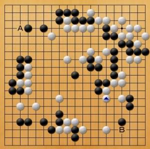 プロ棋士指導碁-大垣P指導碁五子局-004