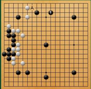 プロ棋士指導碁-吉岡P指導碁五子局-003