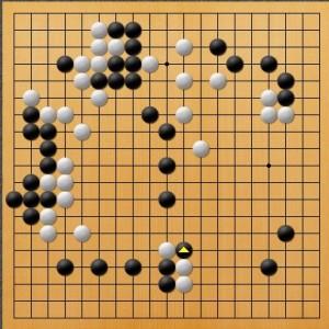 プロ棋士指導碁-吉岡P指導碁五子局-004